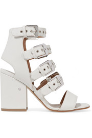 Kloe buckled leather sandals