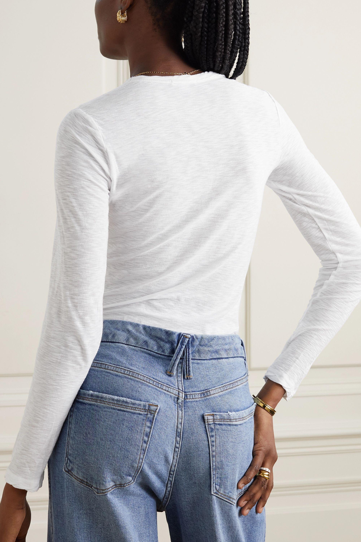 James Perse Slub cotton top