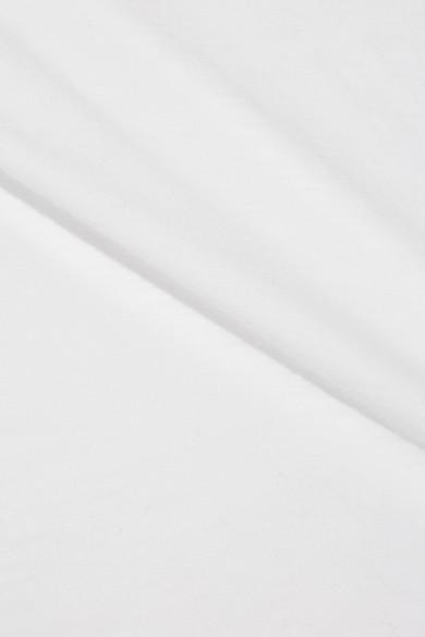 Nagelneu Unisex James Perse Oberteil aus Baumwolle mit Flammgarneffekt Spielraum Neuesten Kollektionen Xg0T0JWVT9