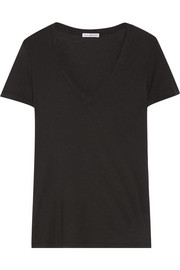 James Perse Casual slub cotton-jersey T-shirt