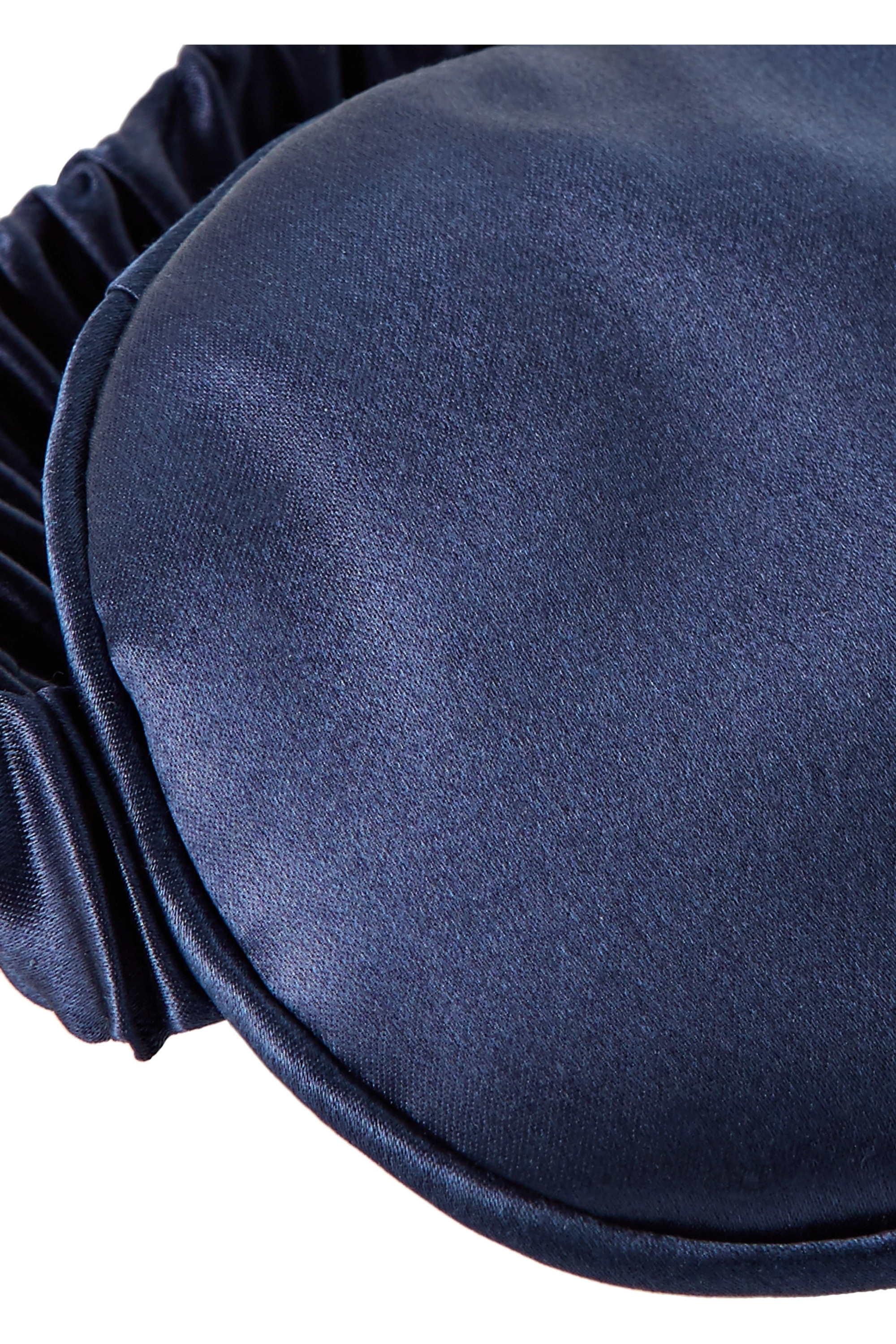 Slip Masque de sommeil en soie à broderies