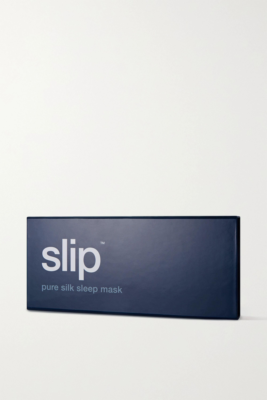 Slip Embroidered silk eye mask