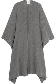 Madeleine Thompson Ribbed-knit cashmere wrap