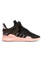 adidas Originals Equipment Support Adv rubber and suede-paneled stretch-knit sneakers