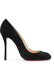 Christian Louboutin Fifetish 100 suede pumps
