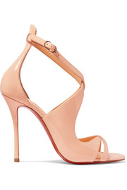 Christian Louboutin Malefissima patent-leather sandals