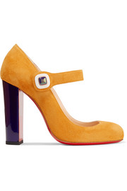 Bibaba suede Mary Jane pumps