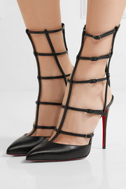 Christian Louboutin Kadreyana 100 leather pumps