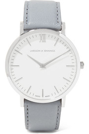 Larsson & Jennings Lugano leather and stainless steel watch