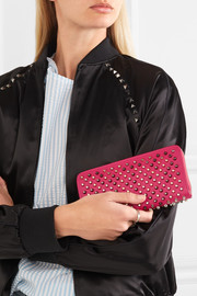 Christian Louboutin Panettone studded leather continental wallet