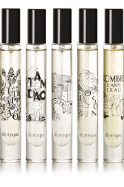Holiday set of five eau de parfums, 5 x 7.5ml