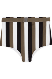 Gregy striped bikini briefs