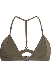Louis triangle bikini top
