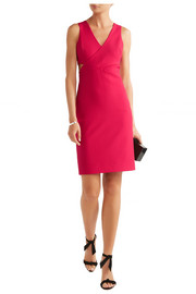 Aldridge cutout stretch-ponte dress