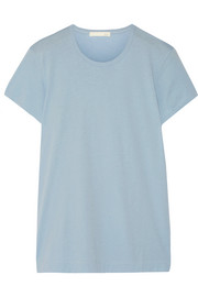 Pima cotton-jersey pajama top