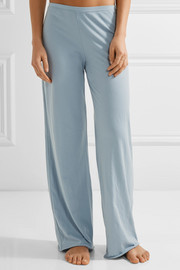 Pima cotton-jersey pajama pants
