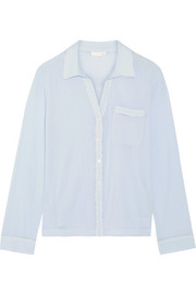 Cotton-gauze pajama top