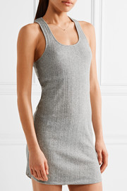 Ribbed Pima cotton chemise