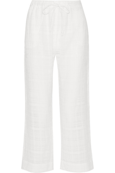 SKIN Woman Crinkled Cotton-gauze Pajama Pants Size 3 Cheap Sale Pay With Paypal Buy Cheap Get To Buy Cheap Real Eastbay Cheap Sale Perfect Cheap Sale Best Prices lyzLnPXG