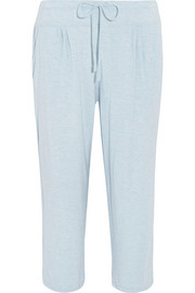 Blue Note cropped stretch-modal pants