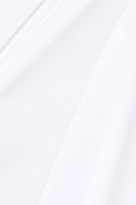 Hanro Caraco en coton mercerisé à finitions en satin