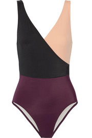 Solid and Striped The Ballerina color-block swimsuit