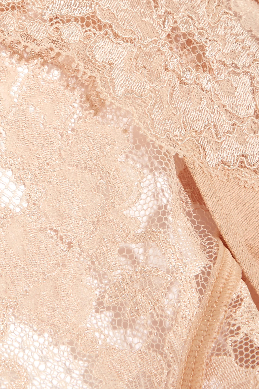 La Perla Souple lace and stretch-cotton jersey briefs