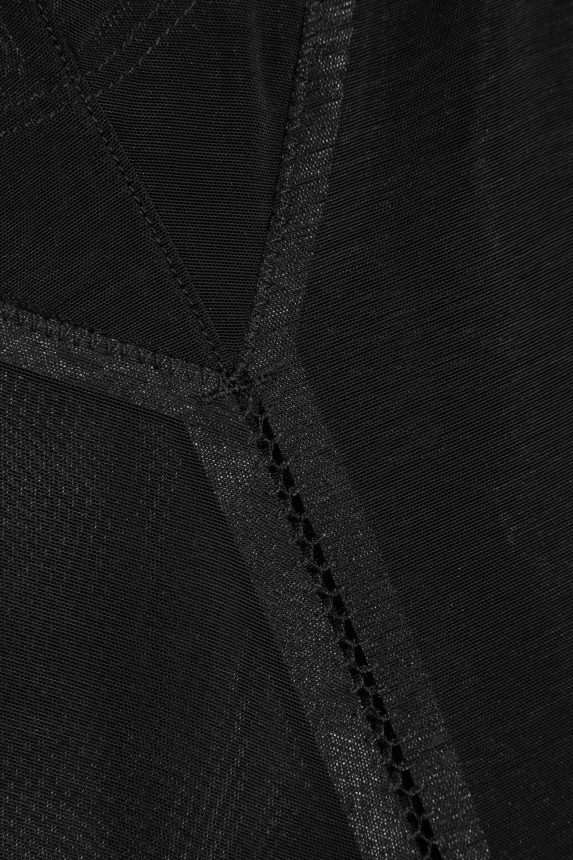 Spanx Haute Contour Nouveau stretch-mesh thong bodysuit