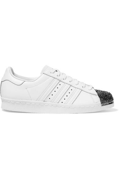 best authentic 16303 af2b7 adidas Originals. Superstar 80s embellished leather sneakers