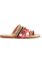 Rossetta embellished leather sandals