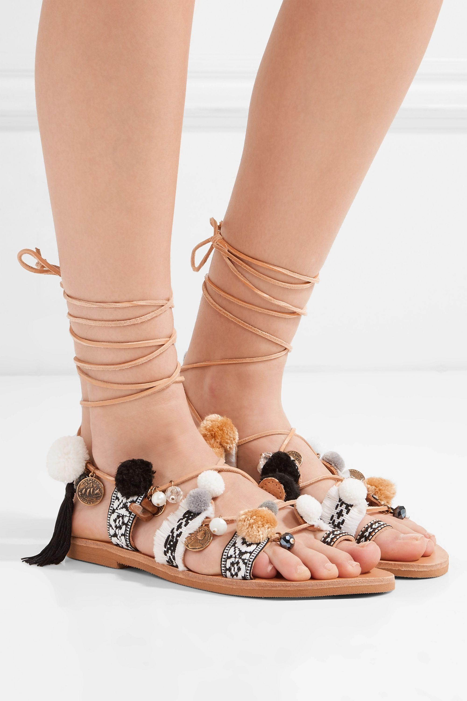 Mabu by Maria BK Freya embellished leather sandals