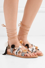 Freya embellished leather sandals