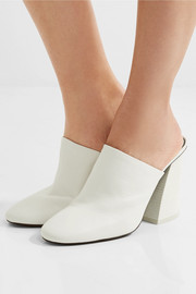 Mercedes Castillo Abia textured-leather mules