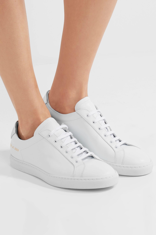 Common Projects Retro Sneakers aus Leder