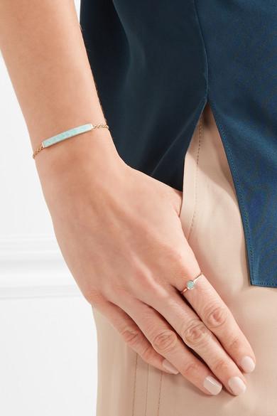 da1ecd737d7b97 Monica Vinader | Linear gold vermeil amazonite bracelet | NET-A ...