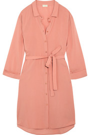 Hanro Lilly crepe shirt dress