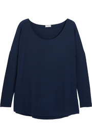 Hélène ribbed stretch-modal jersey top