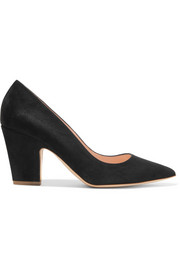 Pierrot suede pumps