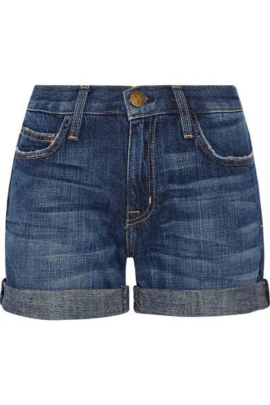 Current/Elliott | The Boyfriend denim shorts | NET-A-PORTER.COM