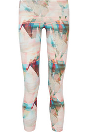 I Am Serene stretch-jersey leggings