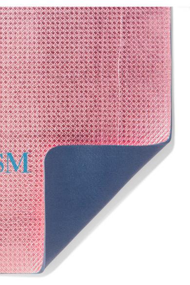 Bodyism Printed Metallic Yoga Mat Net A Porter Com