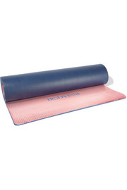 Printed metallic yoga mat
