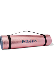 Bodyism Printed metallic yoga mat