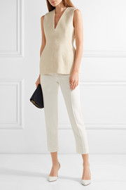 By Malene Birger Carmin cotton-blend tweed top