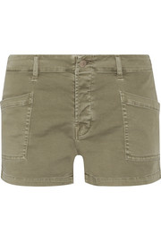 Brona cotton-blend shorts