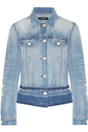 Deena distressed denim jacket
