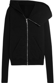 Rick Owens Cotton-jersey hooded jacket