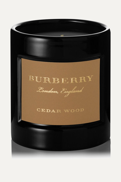 Burberry Beauty - Cedarwood Scented Candle, 240g - one size