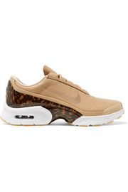 Nike Air Max Jewell LX leather and tortoiseshell plastic sneakers