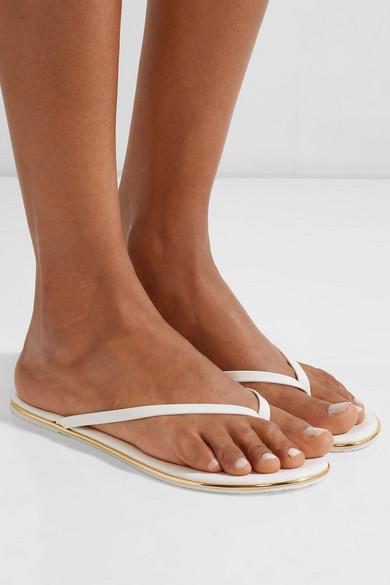 TKEES Lily Flip-Flops aus Lackleder